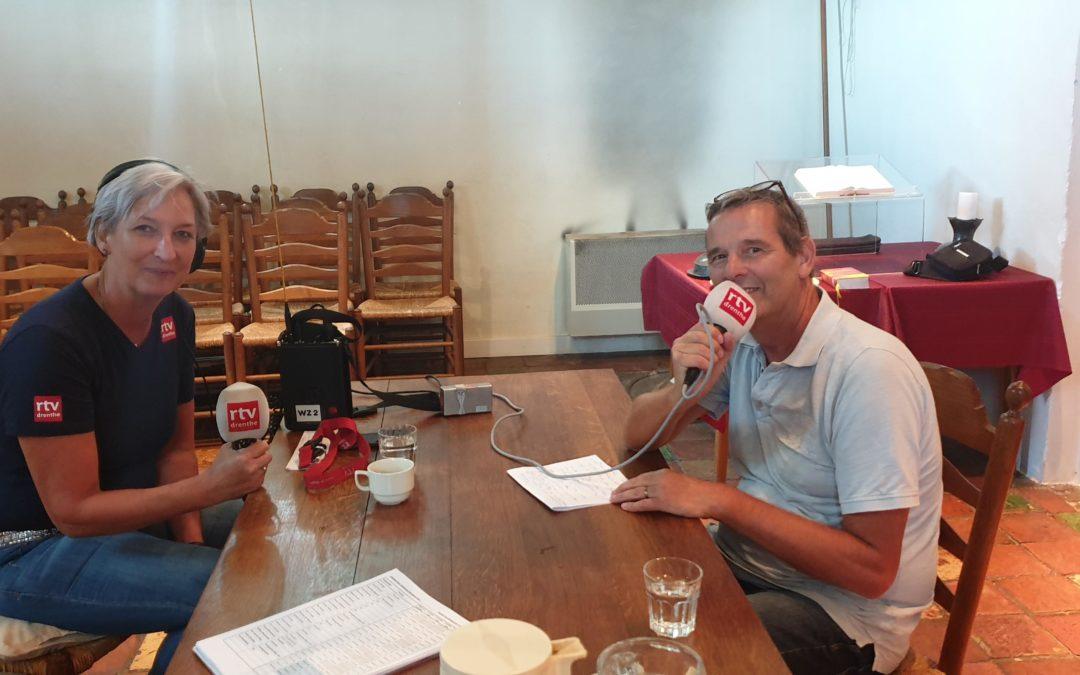 Interview RTV Drenthe en artikel op ditispeize.nl